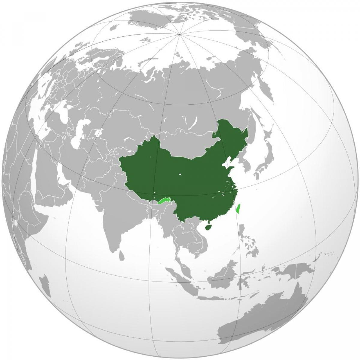 China Weltkarte - Karte von China Welt (Ost - Asien, Asien)